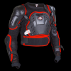 Body armour SHOTM A0I-22D1-A optimal black jacket črno rdeč velikost M